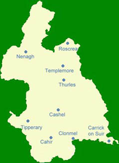 Map Tipperary Green Business Network